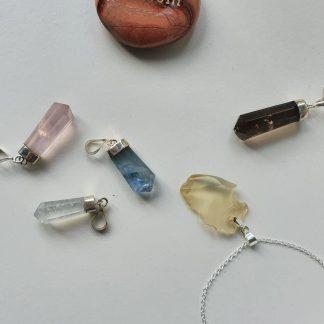 Crystal Natural Pendants